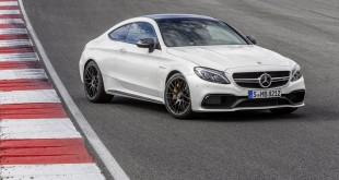 Mercedes-AMG C63 Coupe офицальное фото