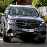 Mercedes-AMG GLS 63 шпионское фото