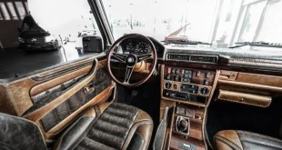 Mercedes-Benz G-Class (G463) interior tuning / тюнинг интерьера Carlex Design