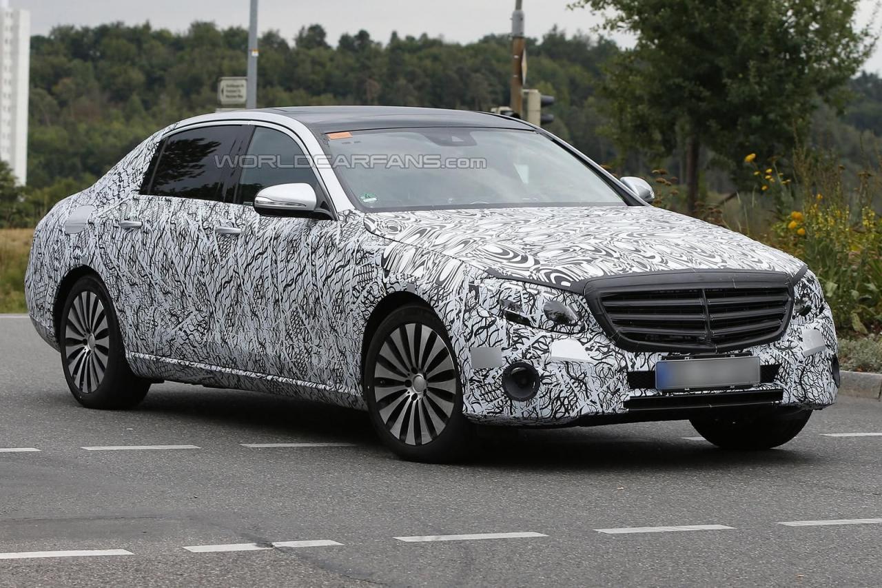 Mercedes-Maybach E-Class шпионское фото