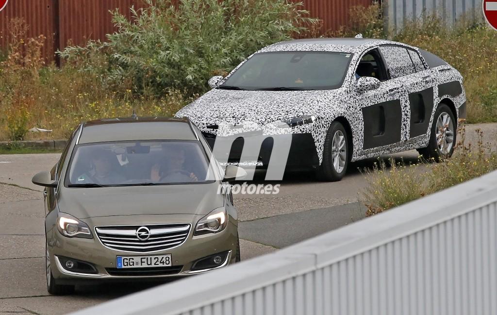 Opel Insignia 2017 шпионское фото