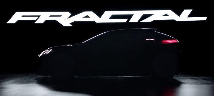 Peugeot Fractal Concept Video Teaser Screen