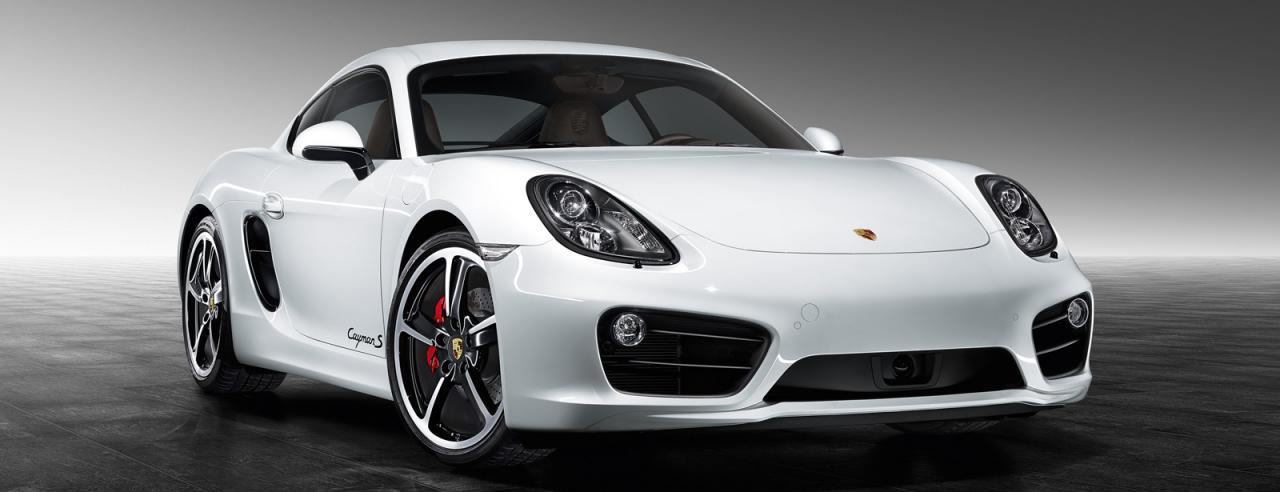 Porsche Cayman S от Porsche Exclusive front facia