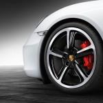 Porsche Cayman S от Porsche Exclusive black & white wheels