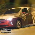 Toyota Prius 2016 шпионское фото без камуфляжа