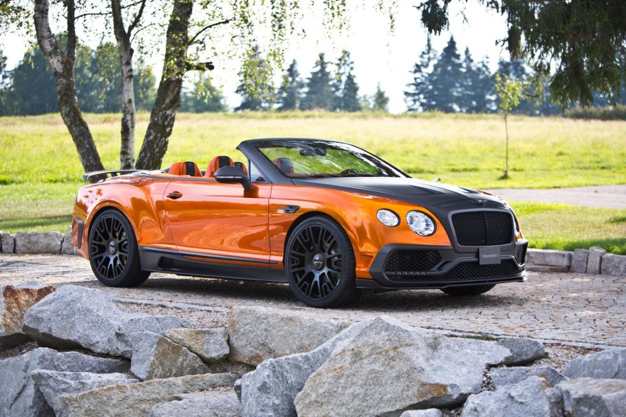 Bentley Continental GT Speed Convertible tuning / тюнинг Mansory