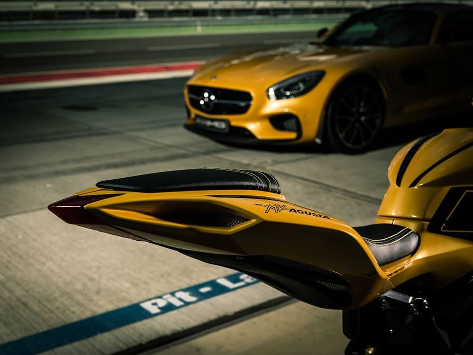 MV Augusta F3 800 inspired Mercedes-AMG GT S