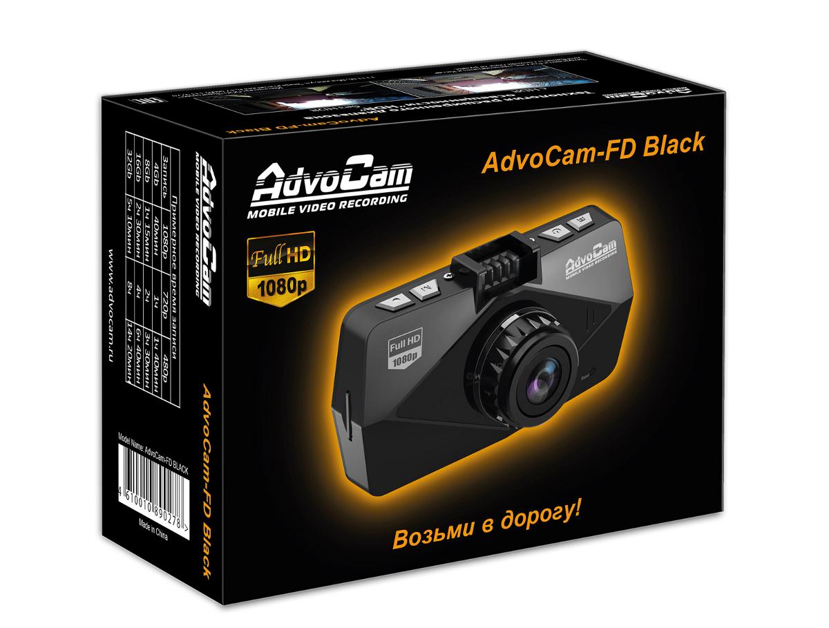 Видеорегистратор Advocam-FD8 Black-GPS