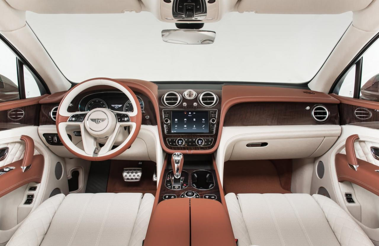 Bentley Bentayga 2016 interior
