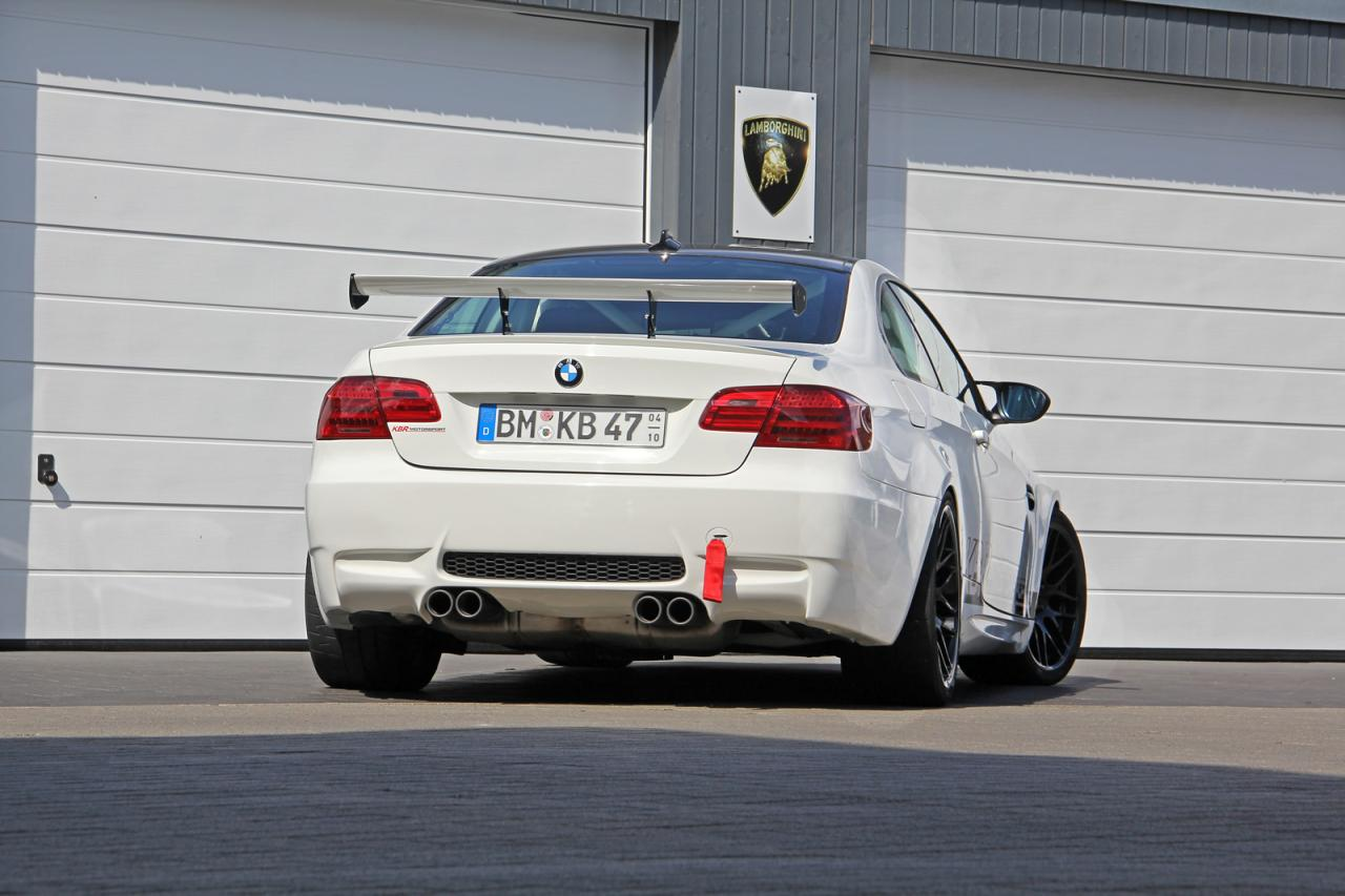 BMW M3 Coupe E92 Clubsport tuning / тюнинг KBR Motorsport