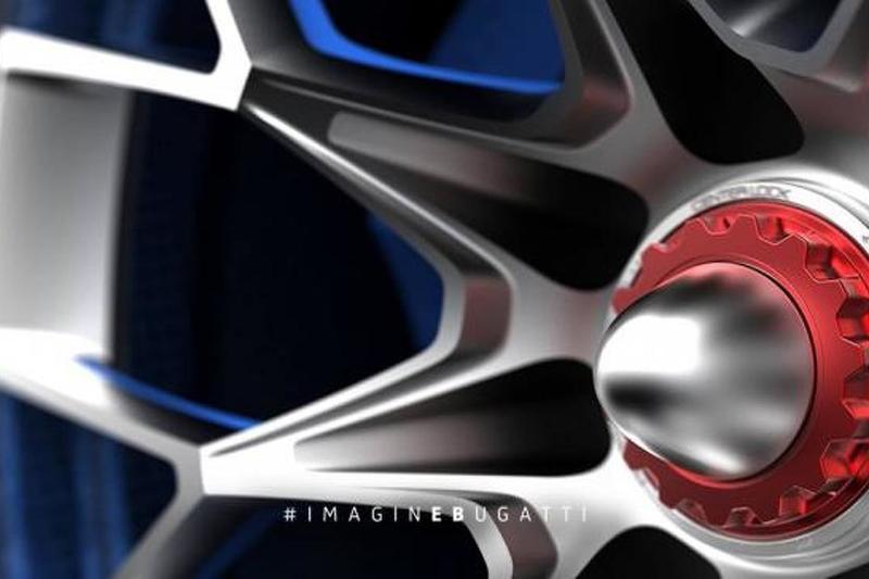 Bugatti Vision Gran Turismo Concept тизер