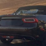 Fiat 124 Spider 2017 шпионское фото