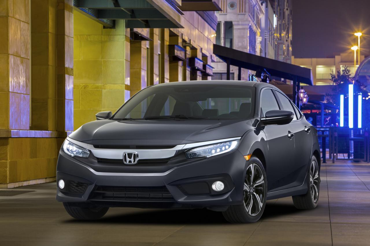 Honda Civic 2016 американская версия седана