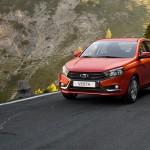 Lada Vesta официальное фото
