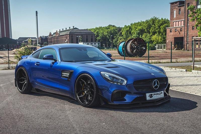 Mercedes-AMG GT S tuning / тюнинг Prior Design