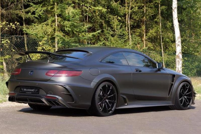 Mercedes-AMG S63 Coupe Black Edition tuning / тюнинг Mansory
