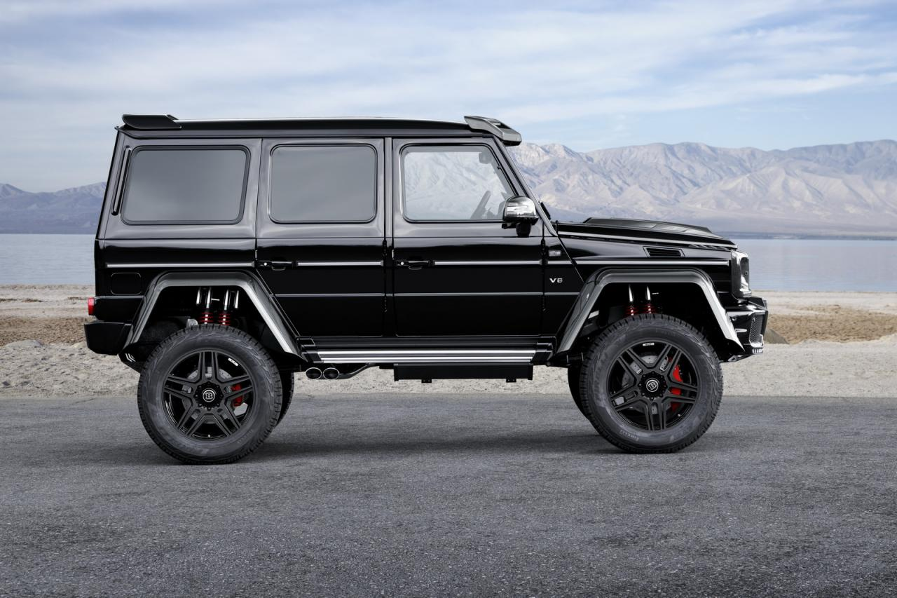 Mercedes-Benz G500 4x4² tuning / тюнинг Brabus