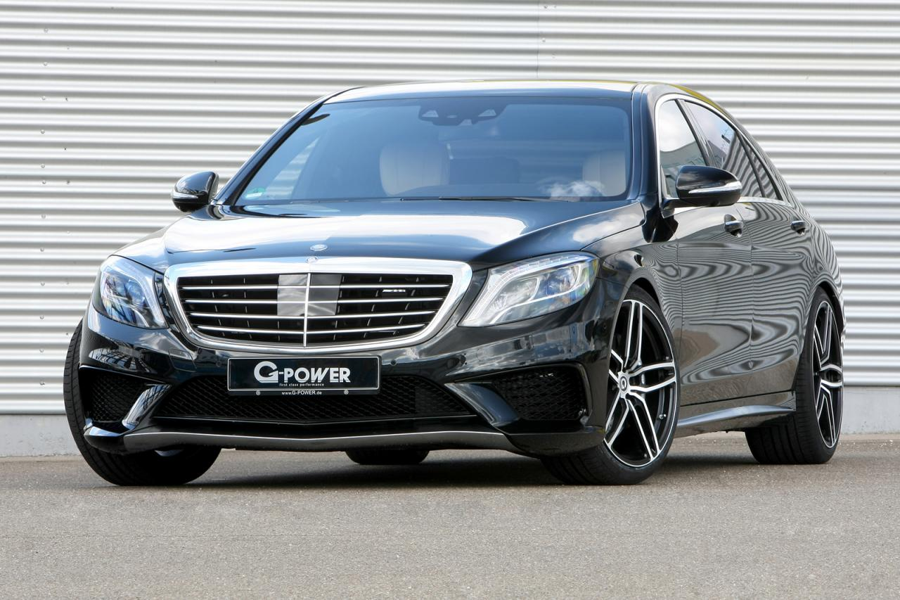 Mercedes-Benz S63 AMG tuning / тюнинг G-Power
