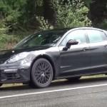 Porsche Panamera 2017 spy video