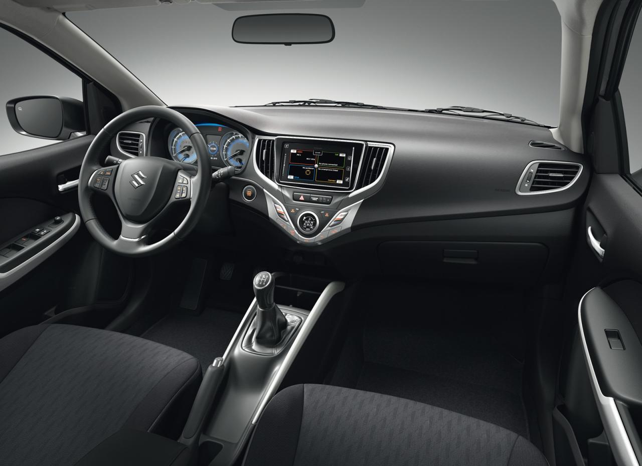 Suzuki Baleno 2016 официальное фото