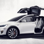 Tesla Model X offficial photo