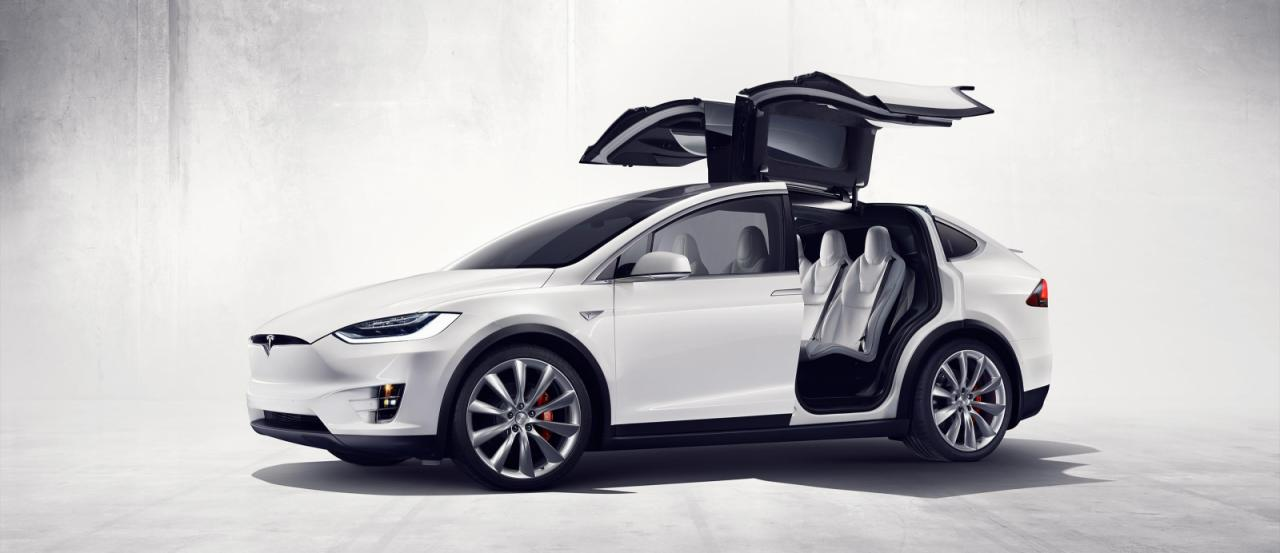 Tesla Model X offficial photo