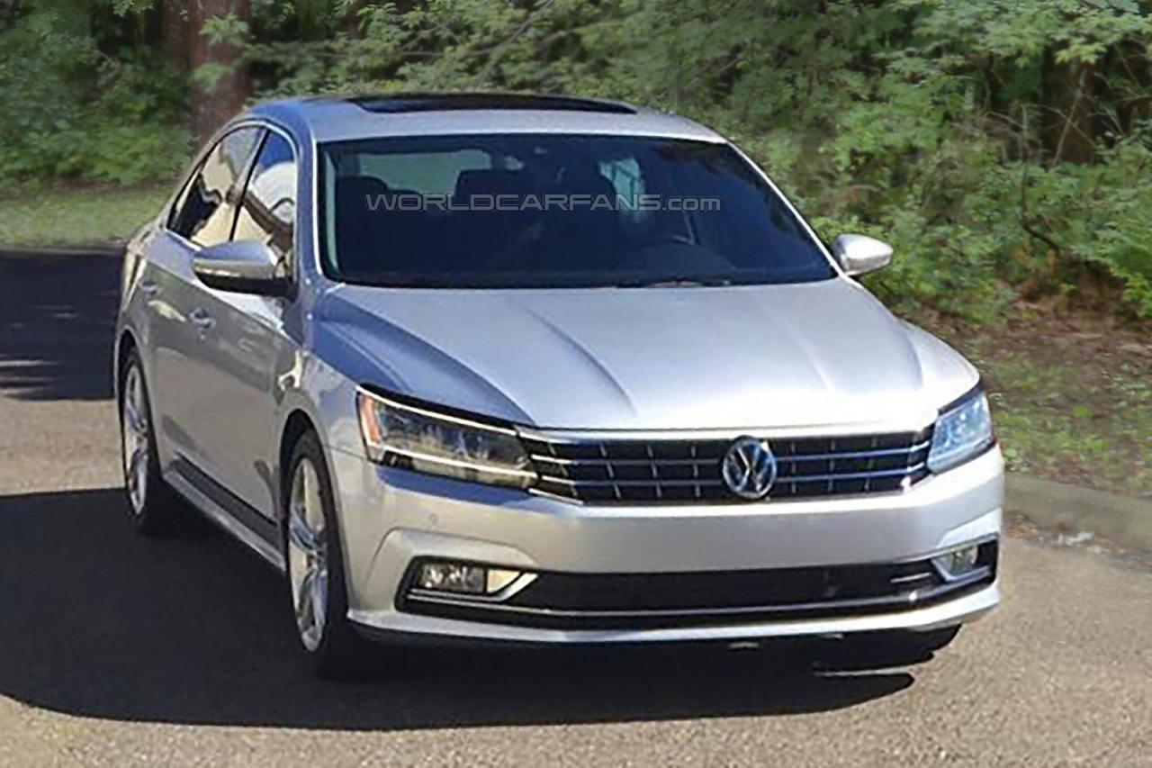 Volkswagen Passat 2016 us-version spy photo
