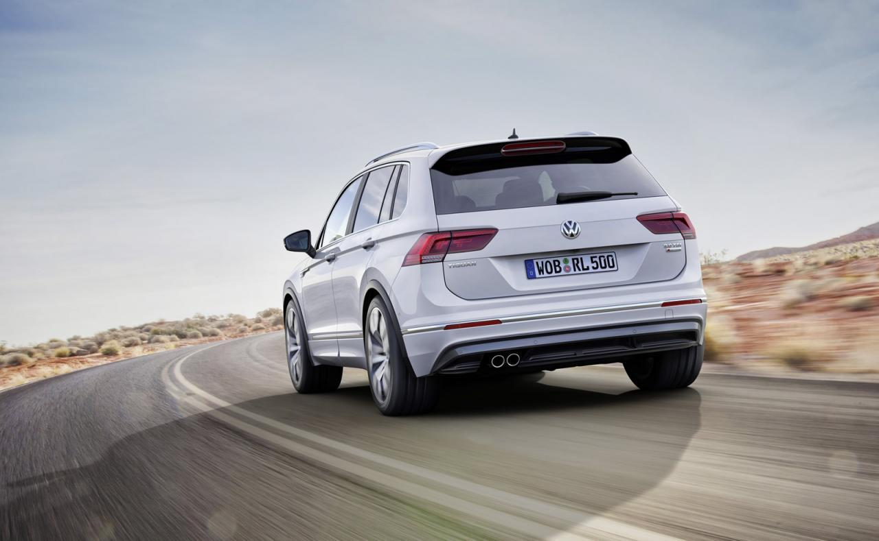 VW начал сборку нового Tiguan в РФ