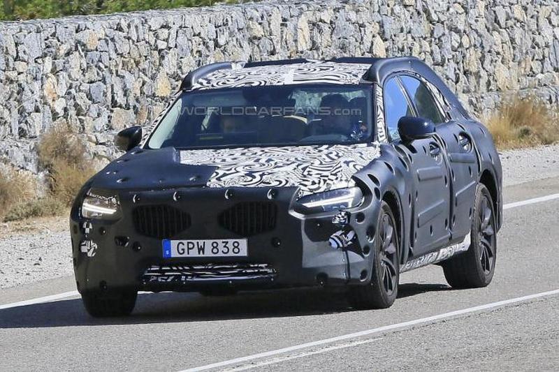 Volvo S90 шпионское фото