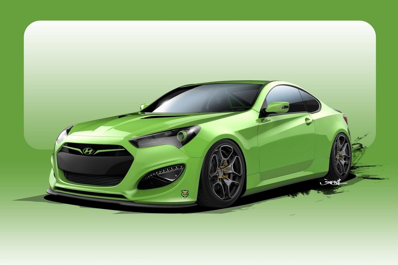 Hyundai Genesis Coupe Tjin Edition для SEMA