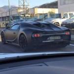 Bugatti Chiron шпионское фото