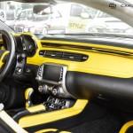 Chevrolet Camaro ZL1 тюнинг интерьера Carlex Design