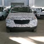 Chevrolet Niva второго поколения шпионское фото