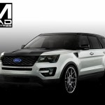 Ford MAD Industries Explorer Sport Concept fo SEMA