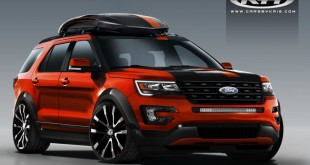 Ford Explorer Sport от Cars by Kris