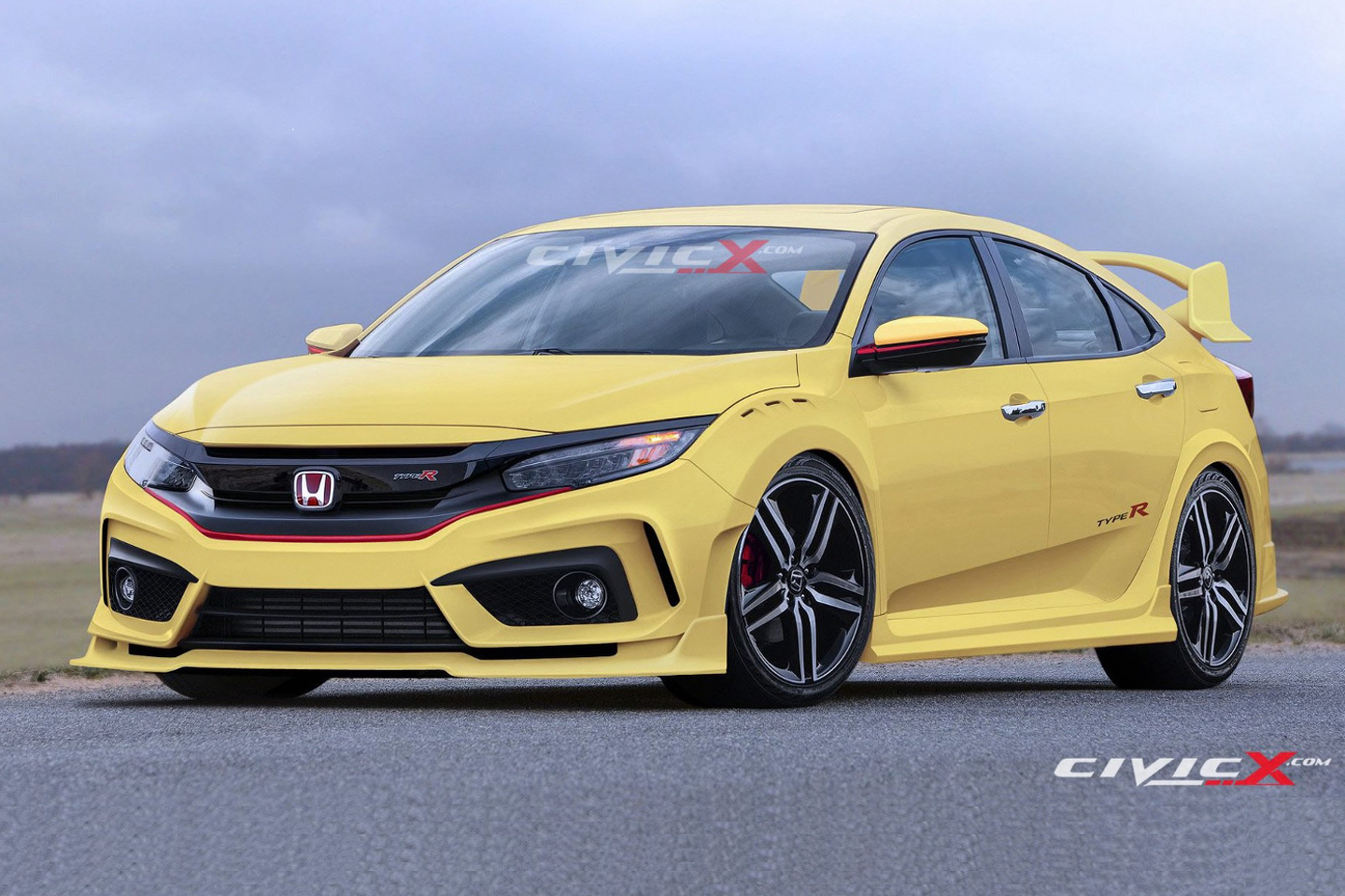 honda type r 4 door autos specs prices and release date. Black Bedroom Furniture Sets. Home Design Ideas