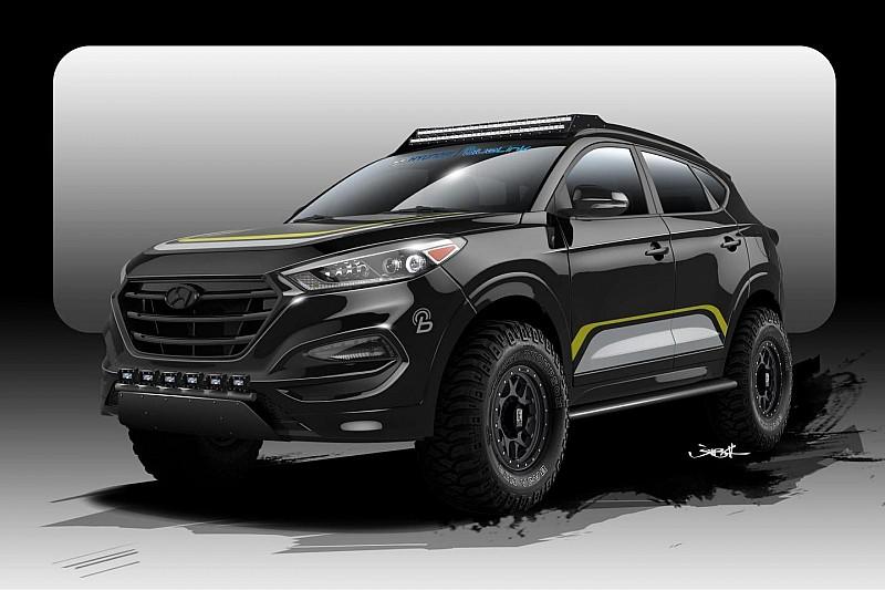 Hyundai Tucson усиленный для бездорожья анонсирован для SEMA