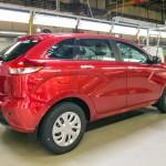 Lada XRAY - фото серийной модели