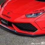 Красный Lamborghini Huracan tuning / тюнинг Liberty Walk