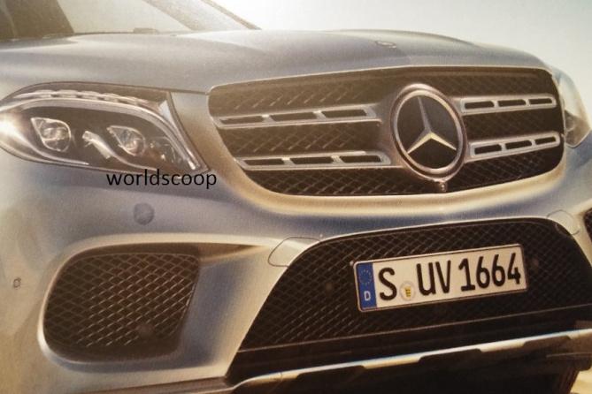 Mercedes-BenzGLS 2016 фото утечка