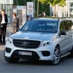 Mercedes-Benz GLS 2016 шпионское фото