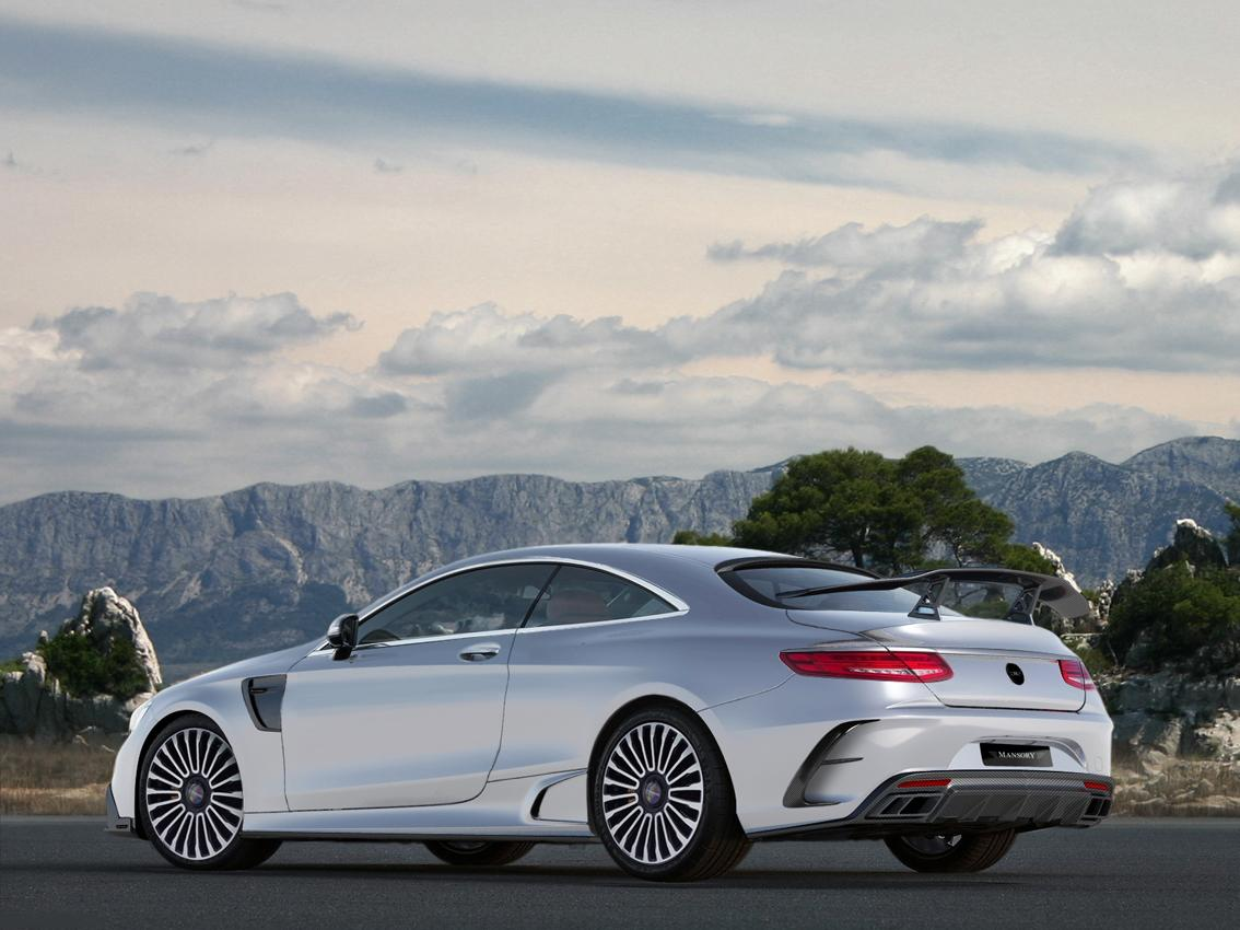 Mercedes-Benz S63 AMG Coupe tuning / тюнинг Mansory