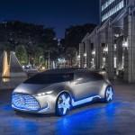 Mercedes-Benz Vision Tokyo Concept официальное фото