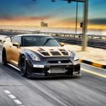 Карбоново-золотой Nissan GT-R tuning / тюнинг от AMS Performance + ADV.1 Wheels