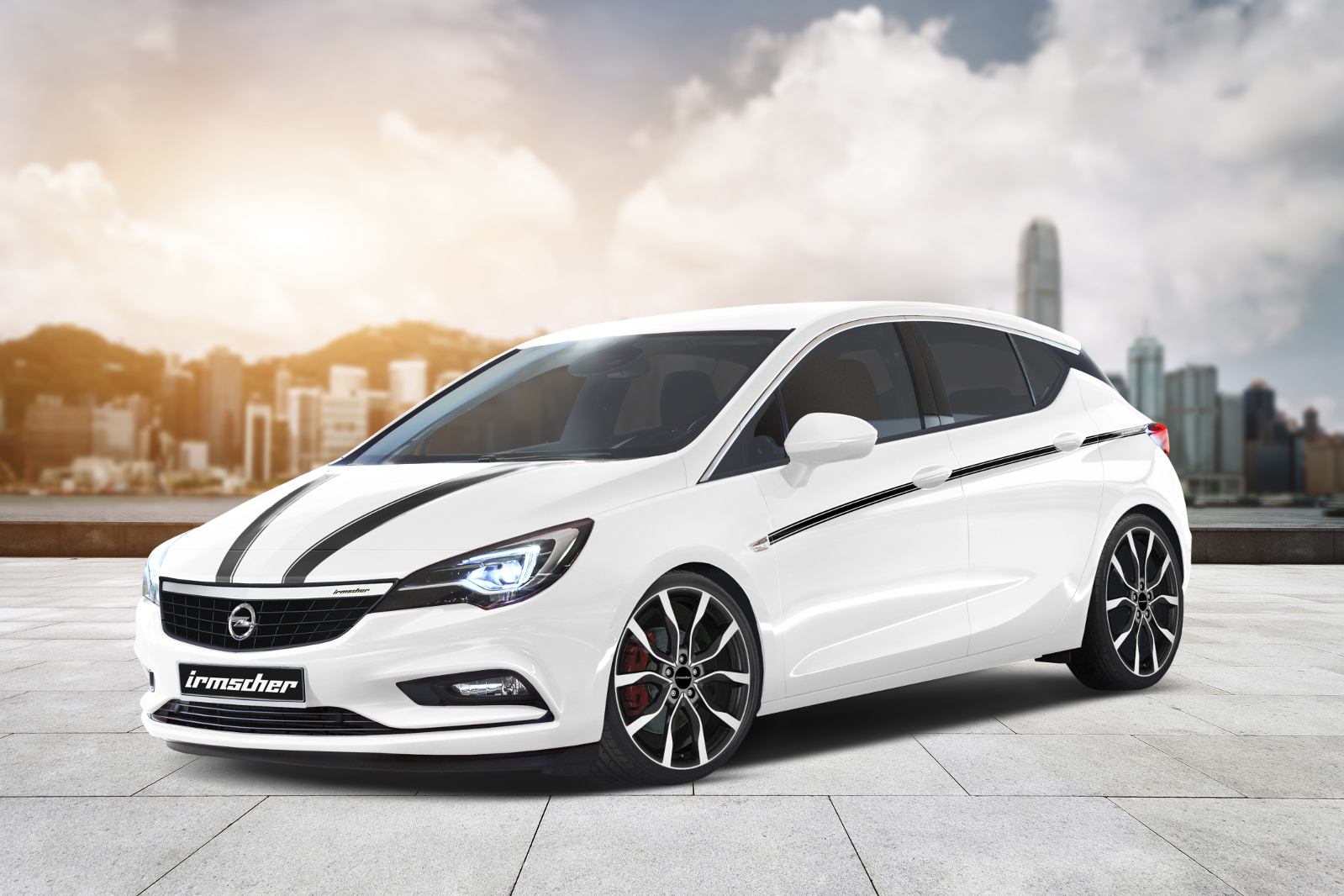 Opel Astra 2016 tuning / тюнинг Irmscher