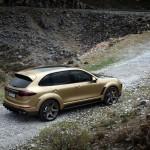 Porsche Cayenne Vantage Gold tuning / тюнинг TOPCAR