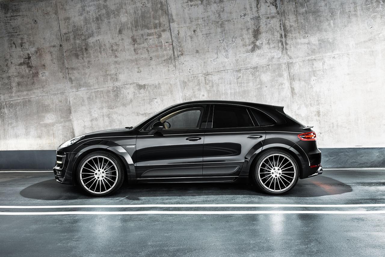Porsche Macan S Diesel tuning / тюнинг Hamann