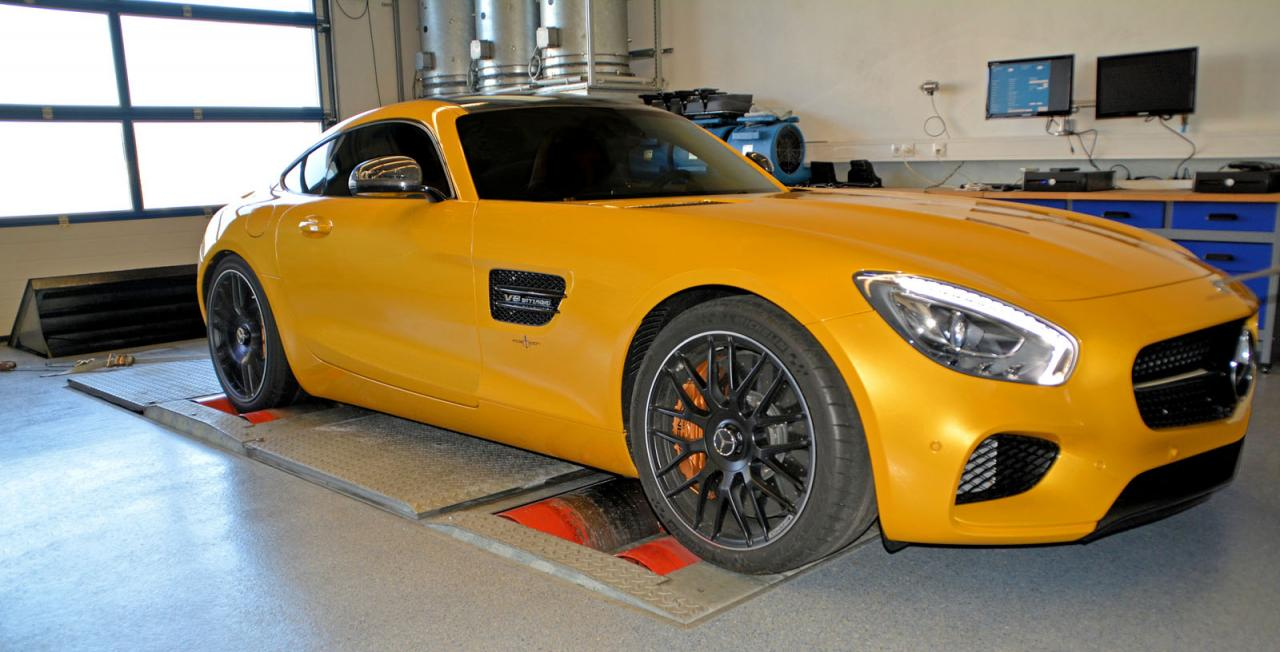 Posaidon RS GT 700 tuning / тюнинг Mercedes-AMG GT