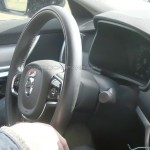 Volvo S90 шпионское фото интерьера