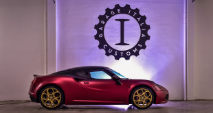 Alfa Romeo 4C La Furiosa тюнинг Garage Italia Customs
